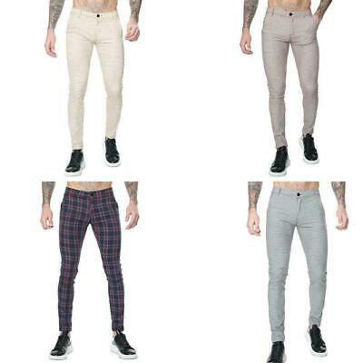 $ CDN22.45 • Buy Men's Chino Pants Skinny-fit Casual Wear Designer  ChinosTrousers UK Sizes 30-38