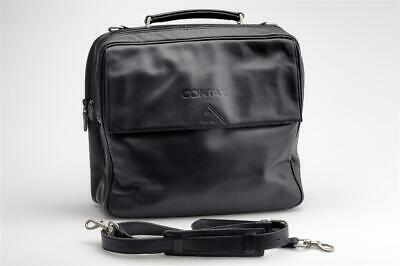 $ CDN432.69 • Buy Contax Leather Bag Black By Goldpfeil F. G1 G2