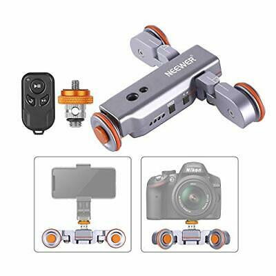 Neewer 3-Wheels Wireless Camera Video Auto Dolly Car With Remote Control Japan • 70.49£