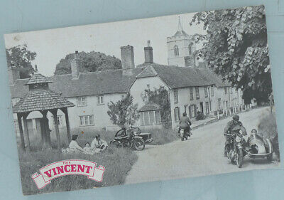 £106.44 • Buy 1952 Vincent Hrd Motorcycle Original Brochure Book Poster Comet Rapide Shadow +