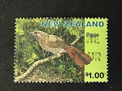 AU1.50 • Buy New Zealand 1996 Extinct Birds $1 Piopio Stamp - Fine Used