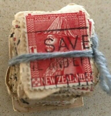 AU1.99 • Buy Stamps New Zealand 1926 SG468 1d Red. Bundle Of 100 On Paper