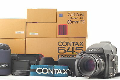 $ CDN7864.67 • Buy [MINT In Box] CONTAX 645 Medium Format Film + Planar 80mm F2 Lens From JAPAN