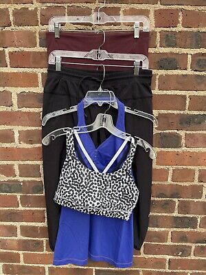 $ CDN41.23 • Buy Lululemon Lot Of 4: Bra, Tank, Crop & Pant  Size 8