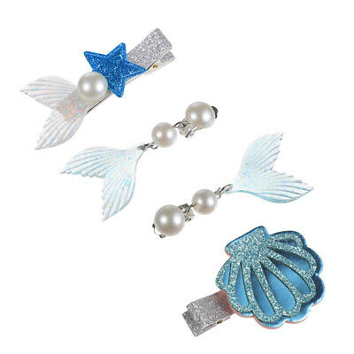 $ CDN8.20 • Buy 3pcs Mermaid Earrings Costume Accessories For Party Girls Kids Gift
