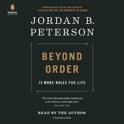 AU58.99 • Buy Beyond Order: 12 More Rules For Life By Jordan B. Peterson (English) Compact Dis