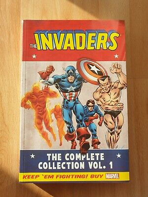 £14.99 • Buy The Invaders - Complete Collection Volume 1 (Marvel Comics, TPB)