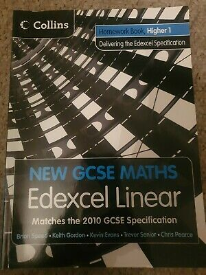 £2.99 • Buy NEW Collins Edexcel Linear GCSE MATHS HIGHER BOOK 1 With CD Student Book