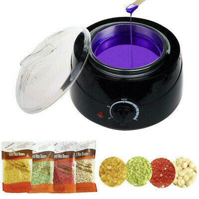 $21.59 • Buy Professional Wax Warmer Heater Hair Removal Depilatory Home Waxing Kit Beans US