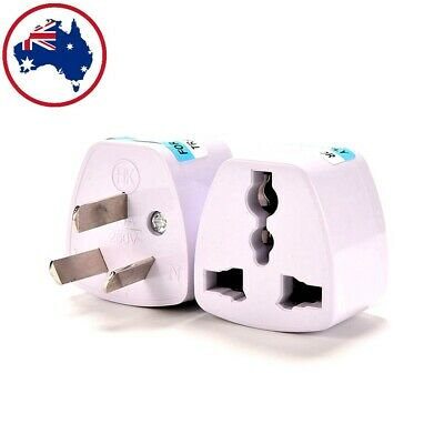 AU4.90 • Buy Universal Travel Adapter International UK USA EU To AU Australian Power Plug