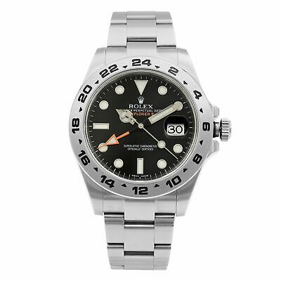 $ CDN13345.36 • Buy Rolex Explorer II Stainless Steel Black Dial Automatic Mens Watch 216570BKSO