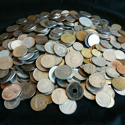 £22.99 • Buy Bulk Job Lot 1.5kg Mixed WORLD / FOREIGN Coins Good Quality Approx 300 Coins