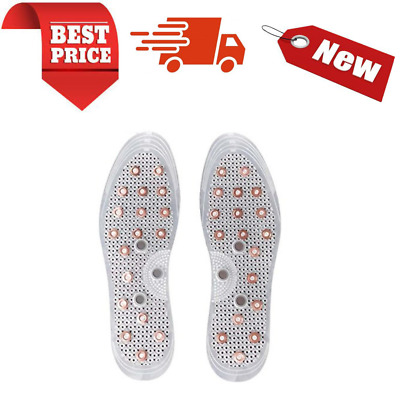 $ CDN10.80 • Buy Heavy Duty Mindinsole Acupressure Magnetic Masage Foot Therapy Reflexology Pain