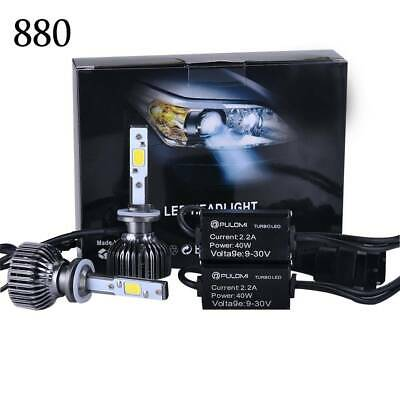 $0.15 • Buy 7200LM 80W 880 881 COB LED Lamp Headlight Kits Car Beam Bulbs 6000k White 12V A