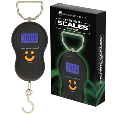 £7.75 • Buy ANGLING PURSUITS Electronic Scales 40kg 88lb Coarse Carp Fishing Weighing Scales