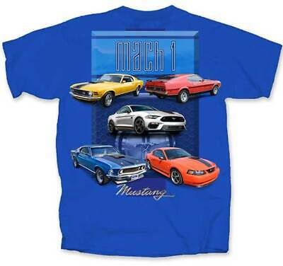 $19.99 • Buy Ford Mustang Mach 1 Muscle Cars Scene 1970-2004 Automobiles T Shirt FM5M1-U