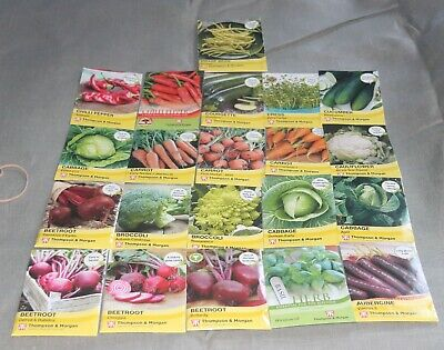 £1.14 • Buy Thompson & Morgan, Mr. Fothergill's & Others - Vegetable Seeds - Upto 50% Off