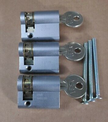 £34.99 • Buy Genuine ASSA Oval Abloy Lock 5 Pin With 1 Key Lock Cylinder