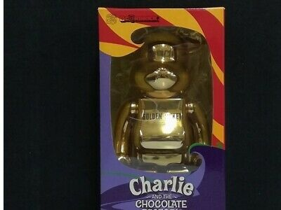 $321.52 • Buy  Medicom Bearbrick  400% GOLDEN TICKET Charlie And The Chocolate Factory