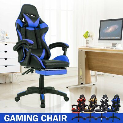 AU108.90 • Buy Office Chair Gaming Chair Computer Executive Chairs Racing Racer Seating