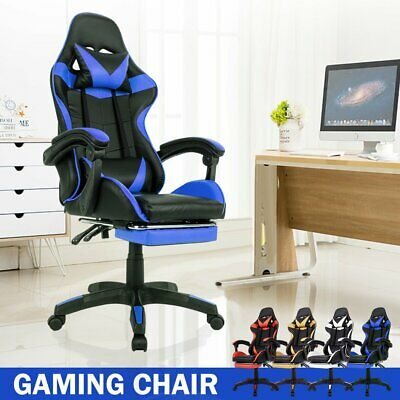 AU102.90 • Buy Office Chair Gaming Chair Computer Executive Chairs Racing Racer Seating