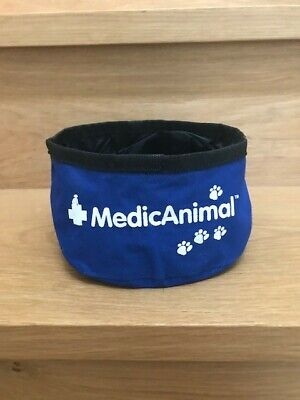 Collapsible Travel Water Bowl By MedicAnimal 1.5 Litres-Brand New And Unused • 1.99£