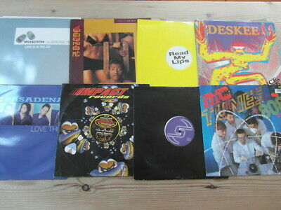 £19.99 • Buy A COLLECTION OF HOUSE,TRANCE,OLD SKOOL 12  SINGLES X 8 90's-2000's VG-EX-13