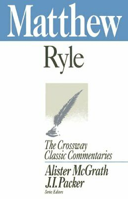 £2.90 • Buy Matthew, 2 (Crossway Classic Commentaries) By Ryle, J. C. Book The Cheap Fast