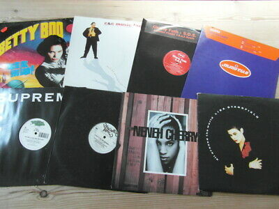 £19.99 • Buy A COLLECTION OF HOUSE,TRANCE,OLD SKOOL 12  SINGLES X 8-90's-2000's VG-EX-15