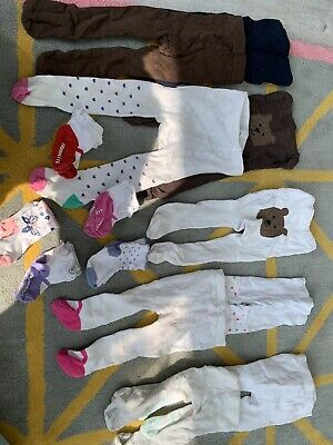 £4 • Buy Baby Girl Bundle Tights And Socks 0-12 Months