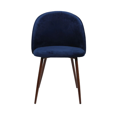 AU169 • Buy 2x Dining Chairs Seat French Provincial Kitchen Lounge Chair Navy