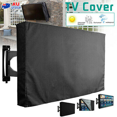 AU20.50 • Buy 30-65 Inch TV Cover Dustproof Waterproof Outdoor Patio Flat Television Protector