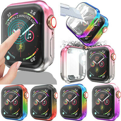 $ CDN4.83 • Buy Screen Protector Case Cover For IWatch Apple Watch Series1/2/3/4/5 38 40 42 44mm