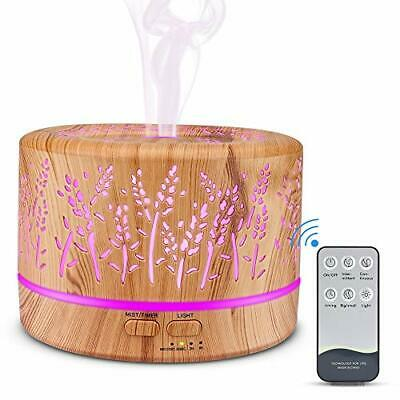 AU71.93 • Buy Oil Diffusers,500ML Essential Oil Diffusers For Aromatherapy, Diffuser