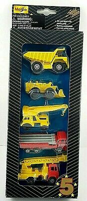 $ CDN24.67 • Buy Maisto 5 Five Star Series Special Edition Construction #2 5 Pack Diecast Cars