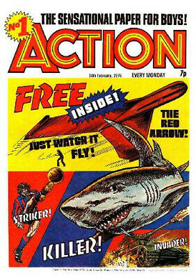 £3.99 • Buy Action -classic British Comics Collection On Dvd Rom