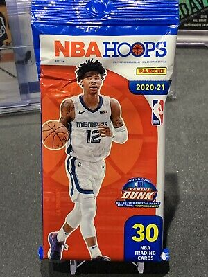 $ CDN35 • Buy 2020-21 Panini NBA Hoops Hanger Cello Fat Pack 30 Cards Brand New Factory Sealed