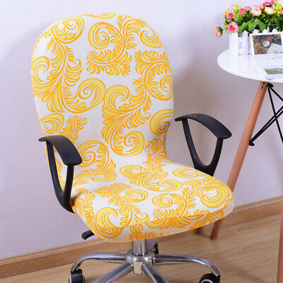 AU9.89 • Buy Computer Swivel Rotate Seat Cover Removable Stretch  Chair Covers Home Office