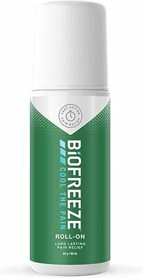 £9.99 • Buy Biofreeze Roll-On Pain Relief Sore Muscle Arthritis Sore Joint Gel 89ml