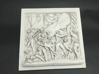 £85 • Buy The Death Of Lord Admiral Nelson Relief, Marble Wall Plaque. Art, Gift, Ornament