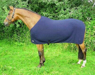£74.99 • Buy Thermatex Knitted Summer Rug, 6'9  Excellent Wicking Rug Navy/Silver