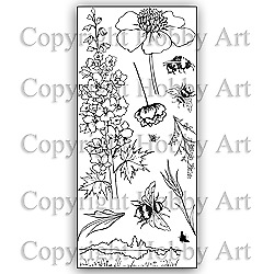 £10.99 • Buy Hobby Art Clear Stamps - COTTAGE GARDEN