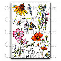 £14.99 • Buy Hobby Art Clear Stamps - BE KIND