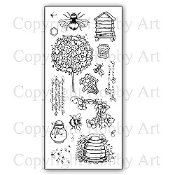 £10.99 • Buy Hobby Art Clear Stamps - BUSY BEES