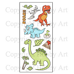 £10.99 • Buy Hobby Art Clear Stamps - DINOSAURS