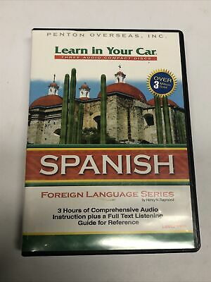 £6.48 • Buy 3 CD's Learn Spanish In Your Car Level Two Foreign Language Series Education