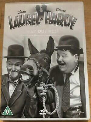 £1.97 • Buy Laurel And Hardy - No. 3 - Way Out West Plus Shorts (DVD, 1937)