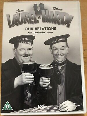 £1.99 • Buy Laurel & Hardy:No 5 Our Relations And 'Dual Roles' Shorts (DVD, 1936)