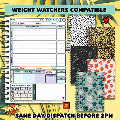 £8.25 • Buy A5 CALORIE DAILY FOOD DIARY Weight Loss, STICKERS & EXTRAS/ DIET/🌈 BOOK/65
