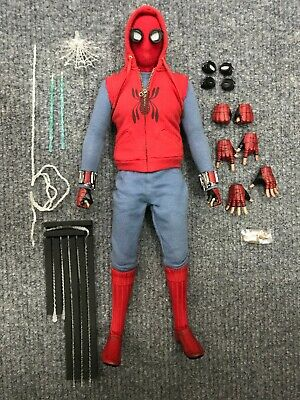 $ CDN259.98 • Buy 1/6 Hot Toys MMS552 Spider-Man Far From Home Homemade Suit Action Figure
